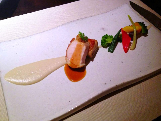 Okinawan food meets french food ryukyu nouvelle cuisine for Nouvelle cuisine