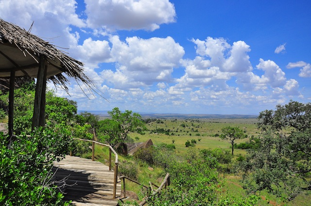 Lamai Serengeti - deck view