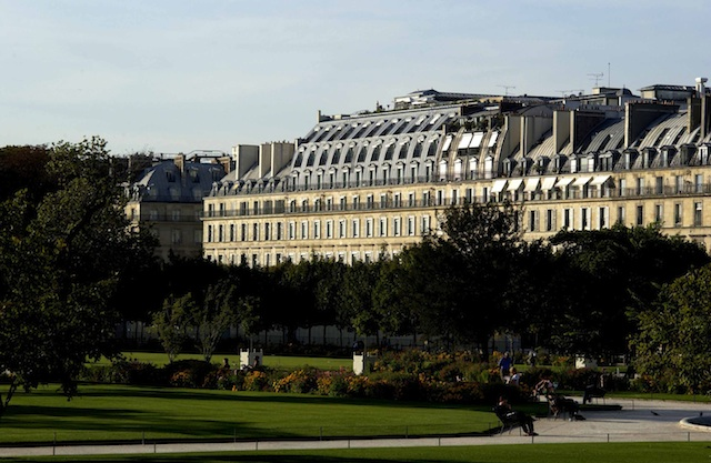 Exterior view of Le Meurice