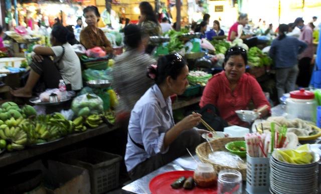 cambodia market