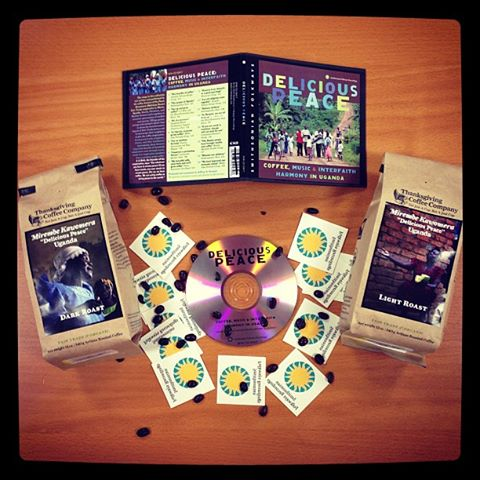 Delicious Peace CD and Coffee