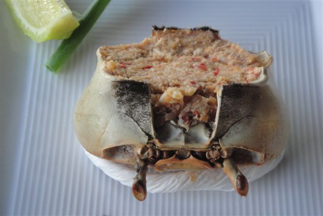 #FoodPorn: Traditional Saint Lucia Crab Back