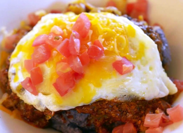 #FoodPorn: Chackewe con Huevos In Albuquerque, New Mexico