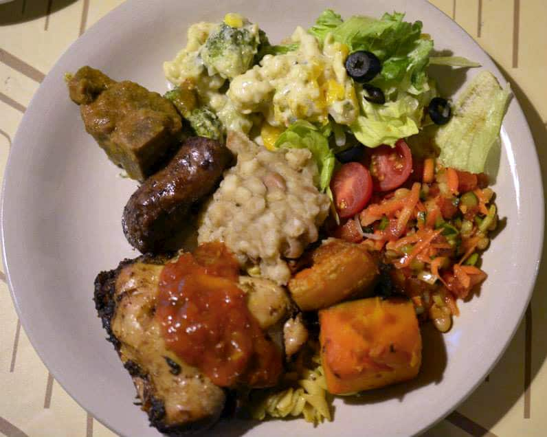 South african cuisine having a traditional township meal for Afrikaner cuisine