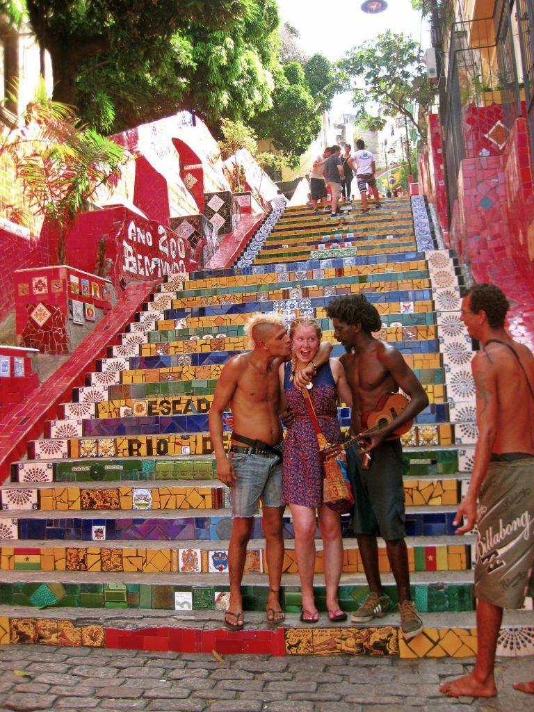 Escadaria Selarón, Rio de Janeiro, Brazil