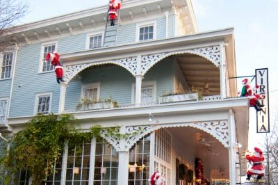 Holiday Spirit at the Virginia Hotel, Cape May, New Jersey