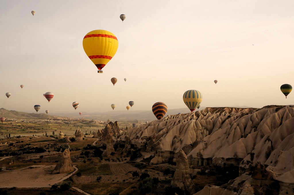 Through The Lens: Hot Air Ballooning Over Cappadocia, Turkey