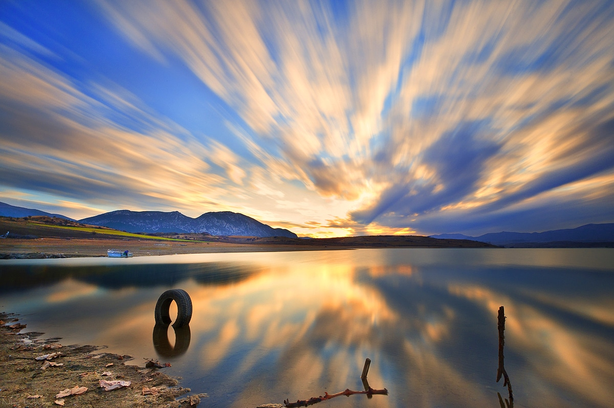 Through The Lens: Polifitos Lake in Kozani, Greece
