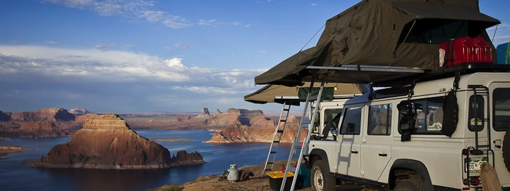 Go glamping in the desert southwest of the United States with Re:treat and Expedition Ops.  Photo courtesy of Re:treat.