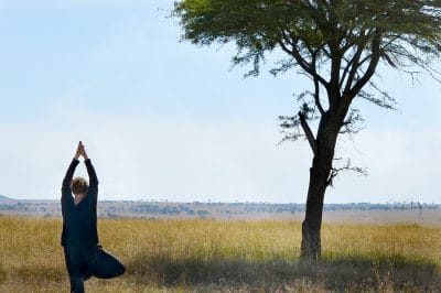 Yoga with Tanzania Wellness Safari