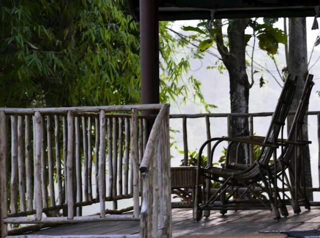 Hornbill Camp deck