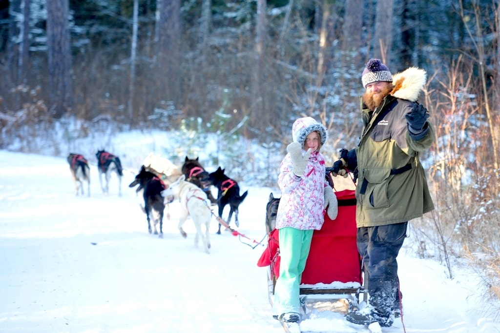 Gourmet Dog-sledding Getaway in Minnesota's Boundary Waters