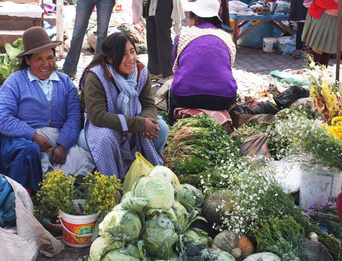 San Pedro Market, Cuzco, Peru.
