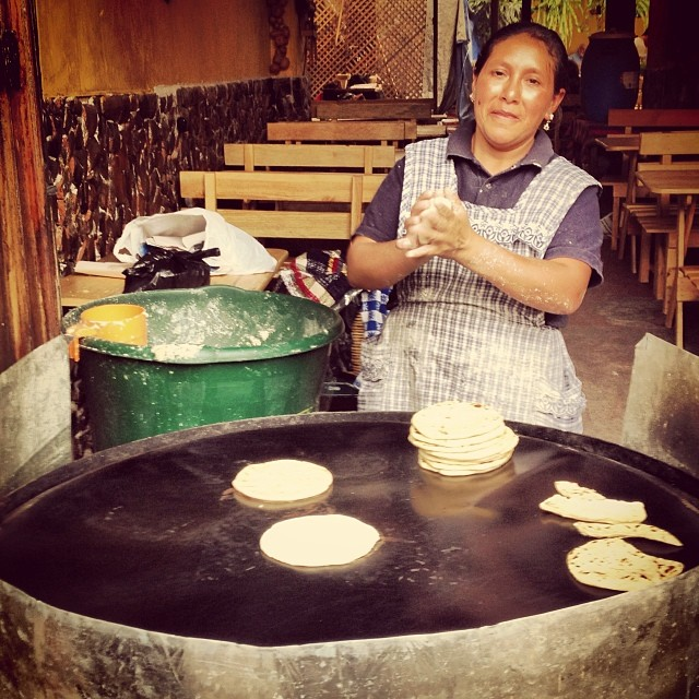 Through The Lens: A Woman Hand-Making Tortillas In Guatemala (And Where To Get The Country's Best)