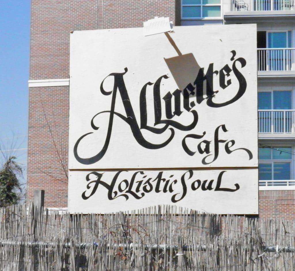 Alluette's Cafe: Holistic Soul Food.