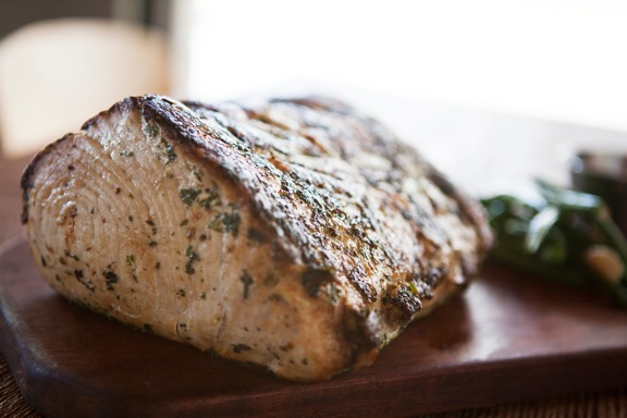 Swordfish Prime Rib, one of Chef Paul's secret dishes.