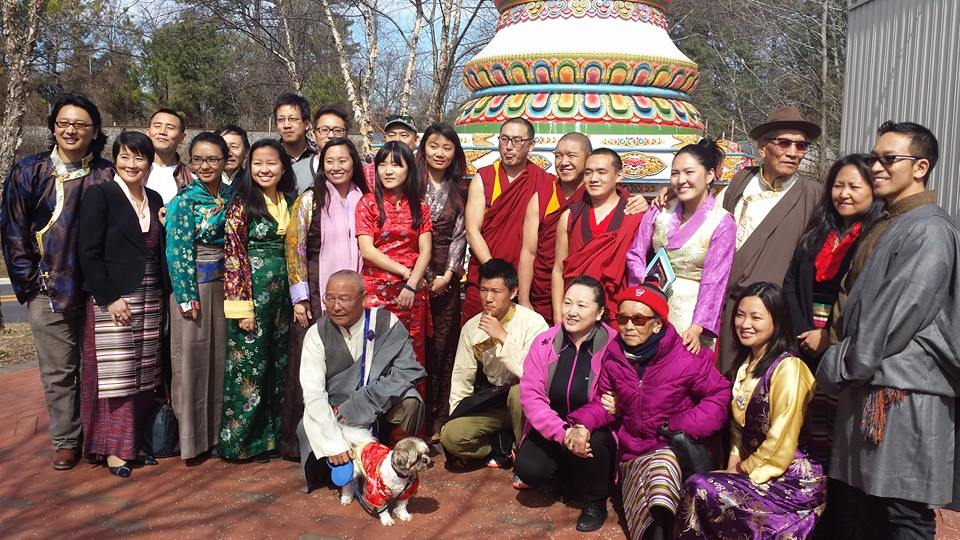 Tibetan New Year Celebration in downtown Raleigh.