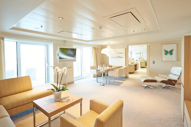 MS EUROPA 2 Owner Suite