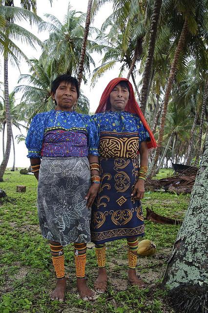 Kuna women.