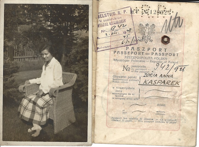 Novelist Scott Bergstrom's WWII-Era European Passport Collection