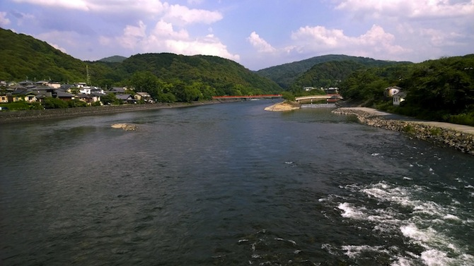uji bridge view