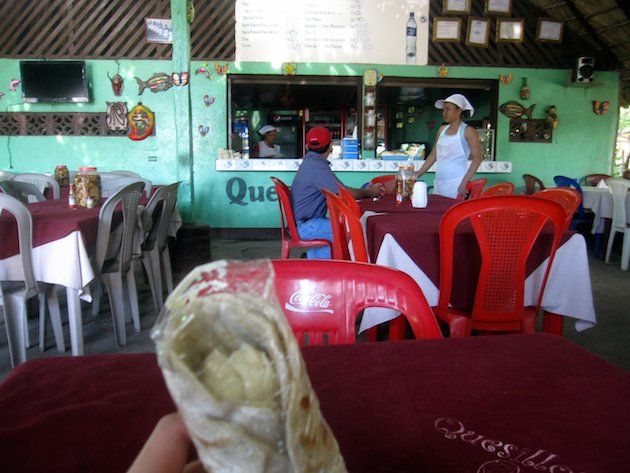 A traditional Nicaraguan quesillo. Photo curtesy of Stefan Krakowski and Flickr
