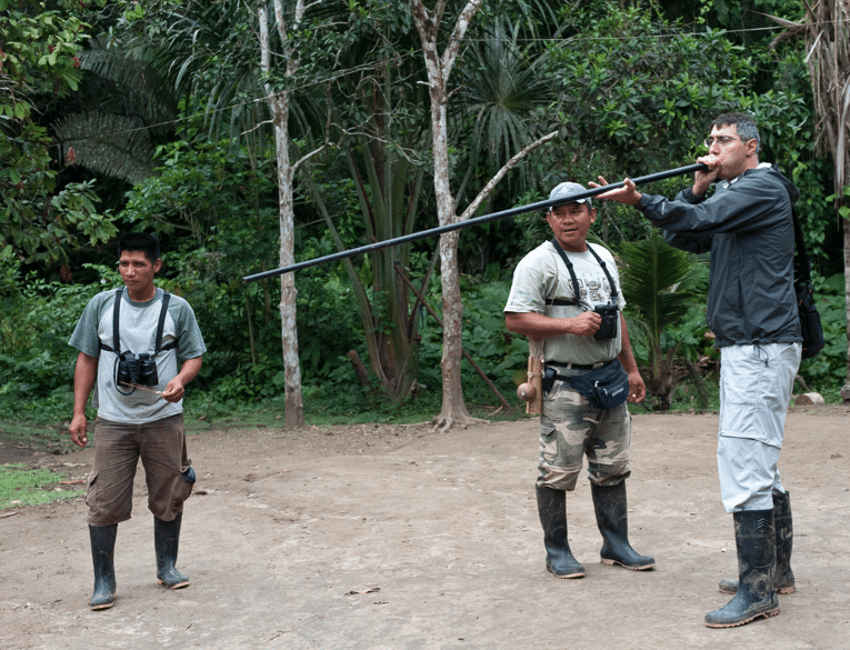 Learn the Blow Dart Hunting Style with Pilchi Natives in Ecuador. Photo Courtesy of La Selva Resort.