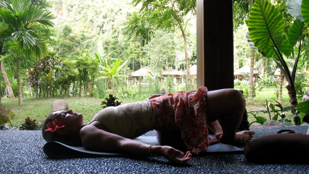Yoga, Culture and the Balinese New Year with Joan Hyman. Photo courtesy of International Yoga.