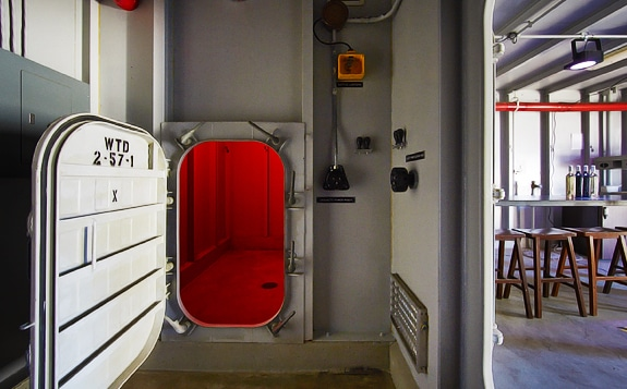 Submarine Wine Bar at Sottomarino, San Francisco.