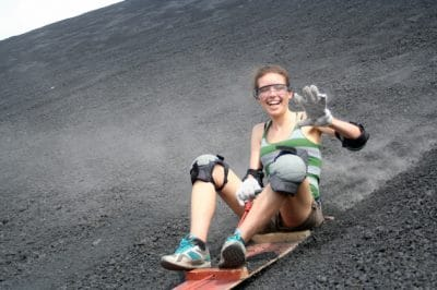 Sliding Down Volcanoes And Into New Local Friendships In León, Nicaragua