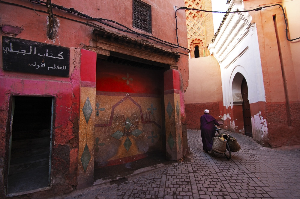 Yoga in Marrakesh, Morocco. Photo courtesy of Trip Tribe.