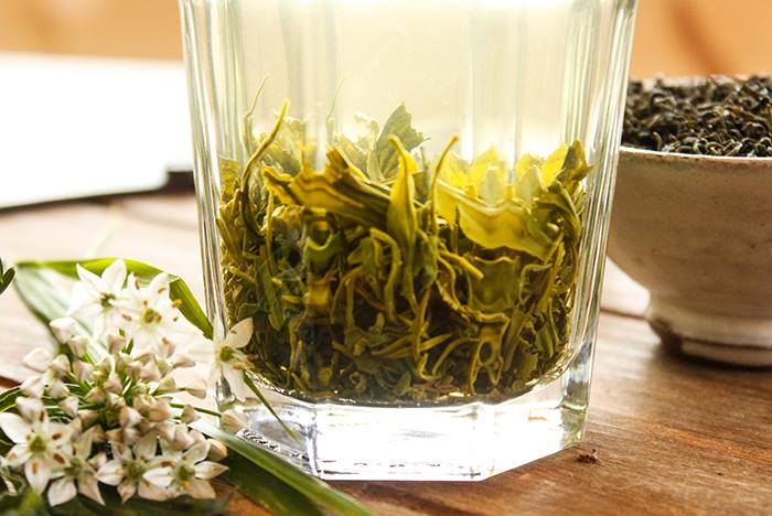 Mrs. Li's Spring 2014 Dragonwell Tea.  Photo courtesy of Verdant Tea.