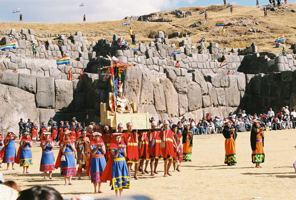 Inti Raymi festival in Cusco, Peru. Photo courtesy of Adventure Life.