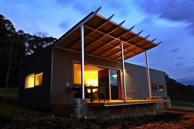 Sustainable Stay: Buckland Studio 5 in Victoria Australia Touts Alpine Luxury
