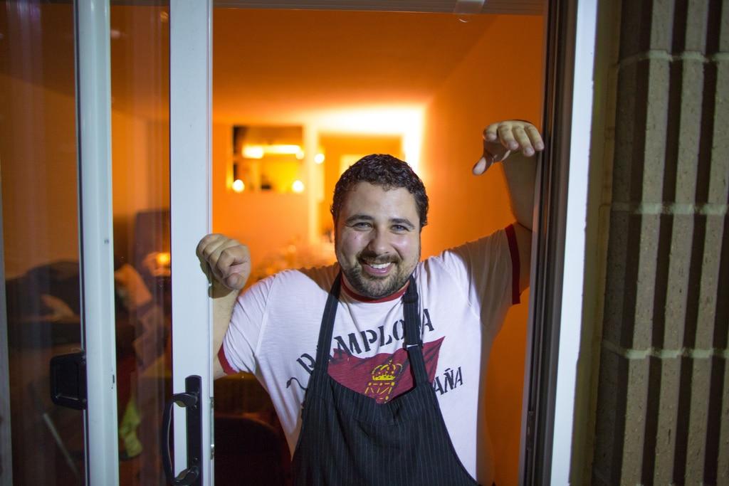 Chef David Santos.  Photo courtesy of Jose Moran Moya
