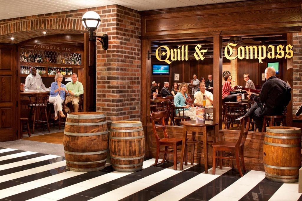 Pub for New Zealand Cruise. Photo Courtesy of Royal Caribbean.