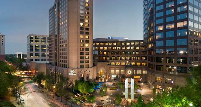 Restaurants Near Hilton Center City Charlotte Nc
