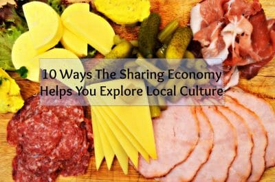 How To Use The Sharing Economy To Go Local On The Road