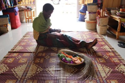 Artisans Of Rwanda: Meet Grace, A Basket Weaving Instructor In Kigali