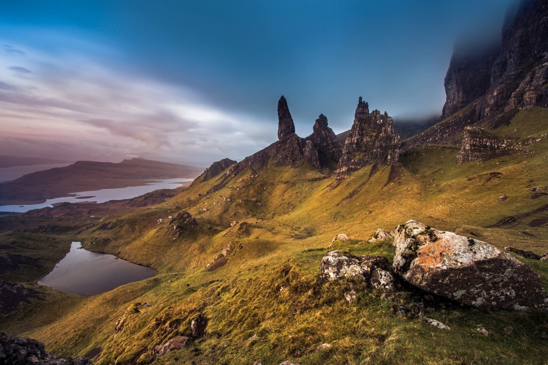 scotland hiking trails