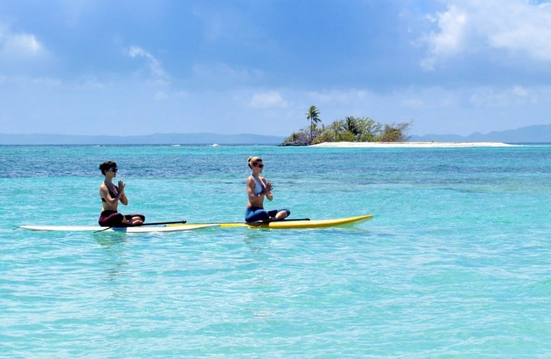 Paddleboard Meditation. Photo courtesy of La Conquistador.