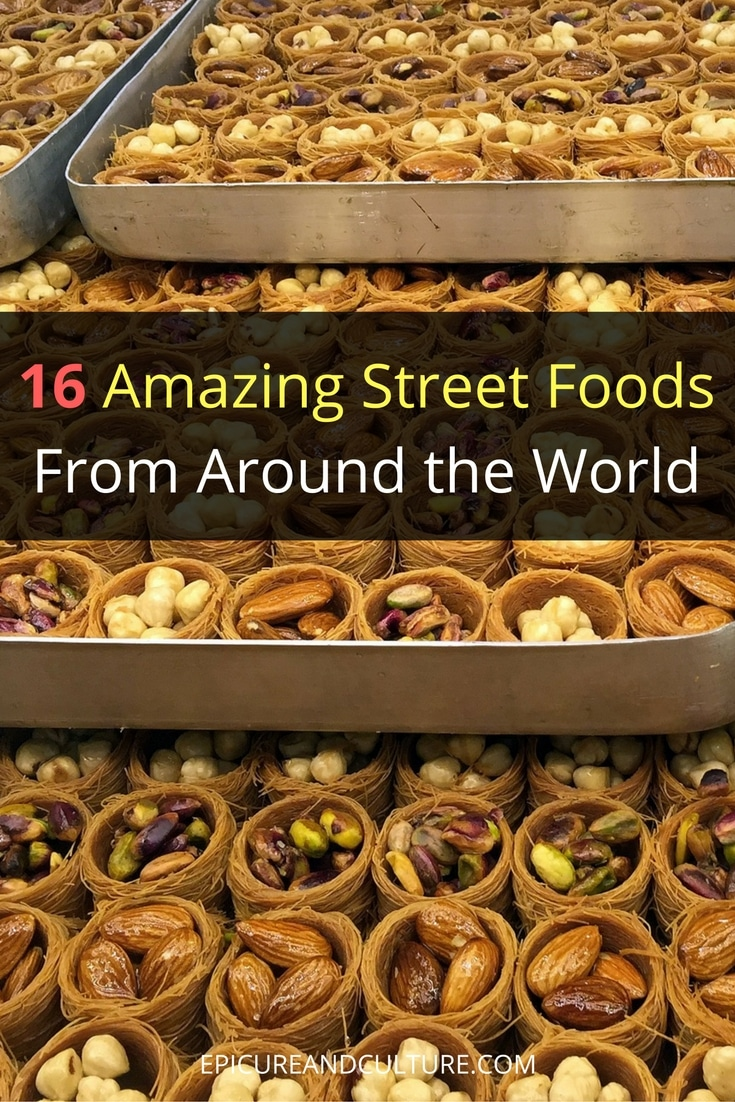 streets foods around the world