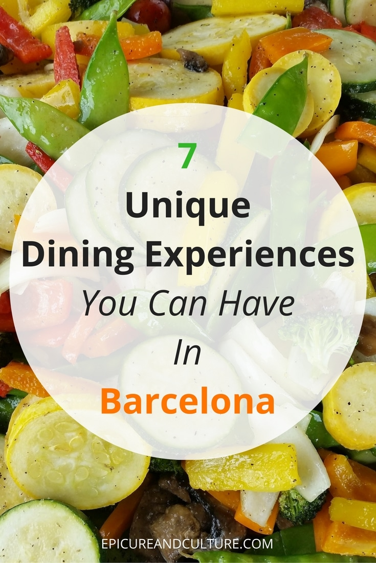 food in barcelona