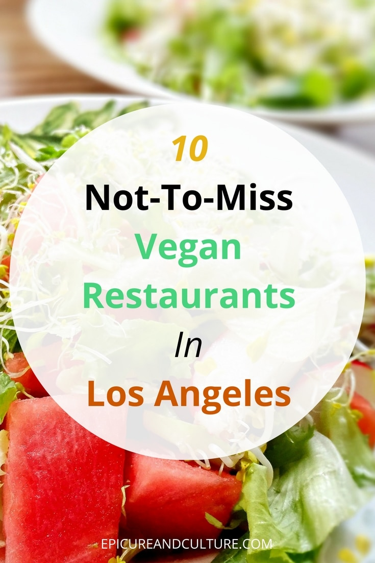 Vegan dating in los angeles