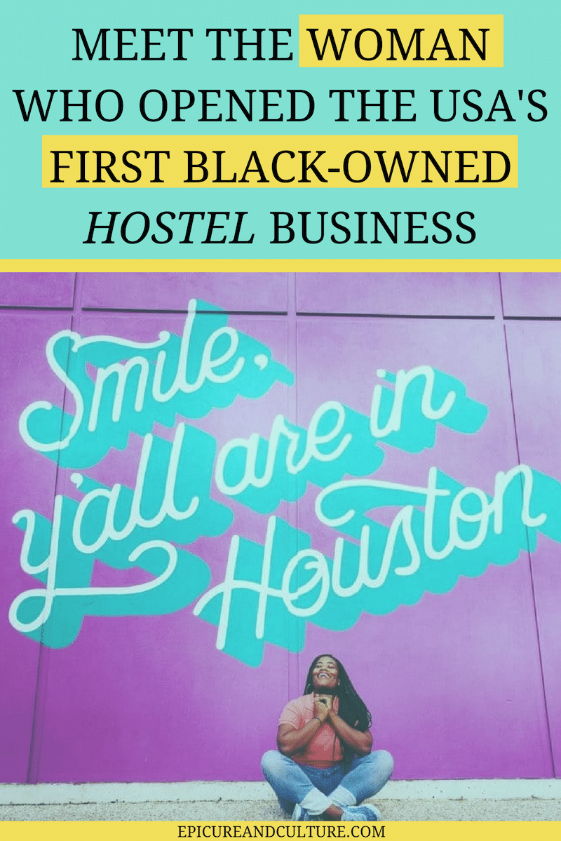 Opening a hostel isn't easy, but Deidre Mathis followed her dreams and broke a record by starting the first black-owned hostel business. Here, she shares tips to inspire other aspiring entrepreneurs, as well as details on her hip new Houston travel accommodation. // #OpeningAHostel #StartingAHostel #HoustonTravel #Hostels #HoustonAccommodation
